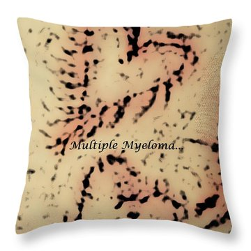It's Time To Find A Cure... Throw Pillow