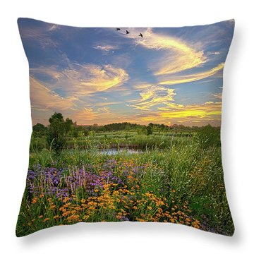 It's Time To Relax Throw Pillow