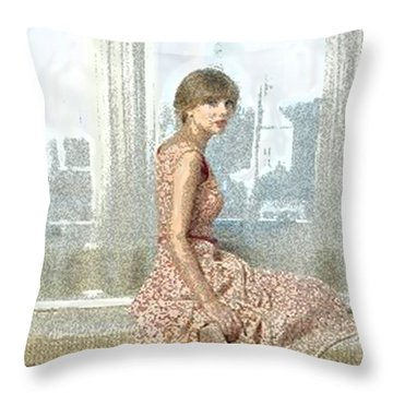 its TS Throw Pillow
