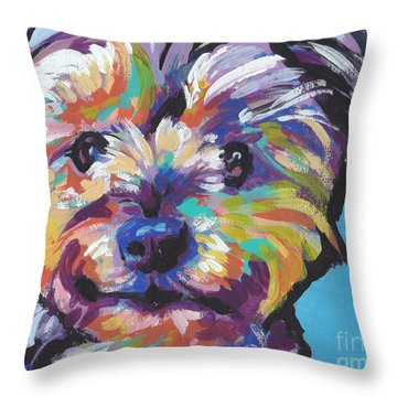 Itsy Bitsy Best Friend Throw Pillow