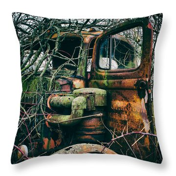 I've Created A Monster  Throw Pillow by Off The Beaten Path Photography - Andrew Alexander