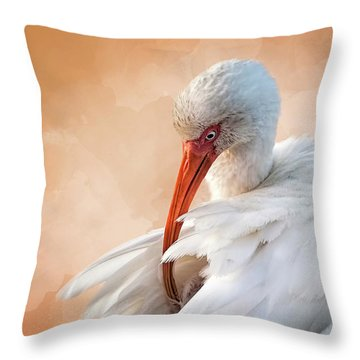 I've Got An Itch Throw Pillow by Cyndy Doty