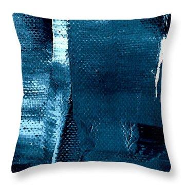 I've Got The Blues Throw Pillow