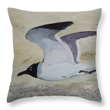 I've Got Wings Throw Pillow