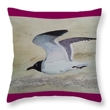 I've Got Wings Throw Pillow