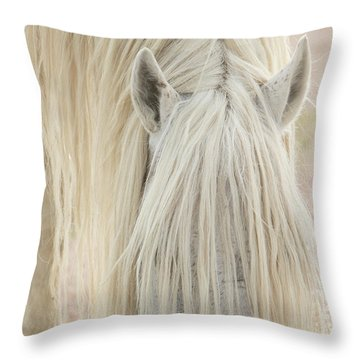 Ivory Throw Pillow