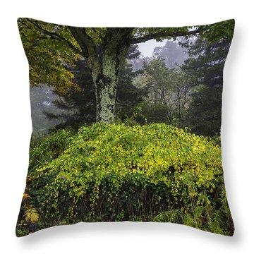 Ivy Garden Throw Pillow