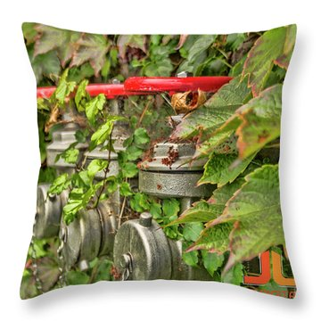 Ivy Standpipe Throw Pillow