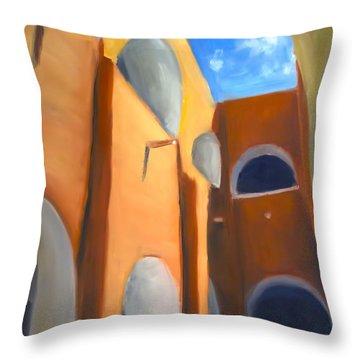 Izamal - Monastery San Antonio De Padua  Throw Pillow