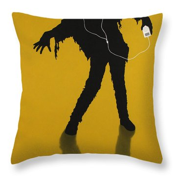 iZombie Throw Pillow by James W Johnson