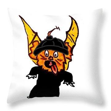 Izzy As Thief Throw Pillow by Jera Sky