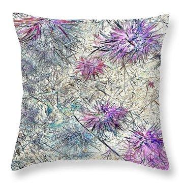 Beauty Underfoot Throw Pillow