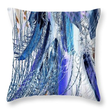 On The Upswing Throw Pillow