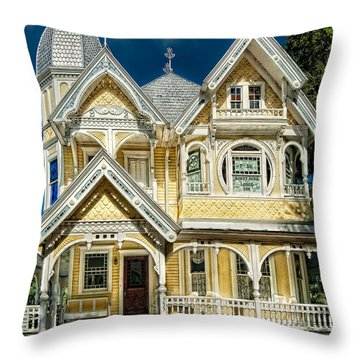 J. P. Donnelly House Throw Pillow