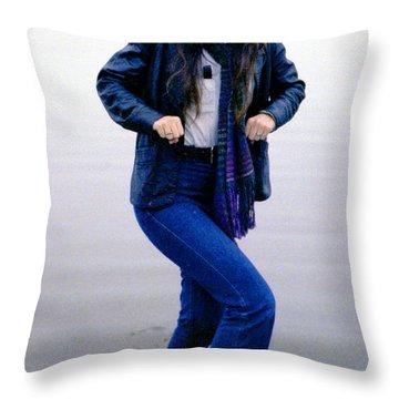 J. R. Throw Pillow