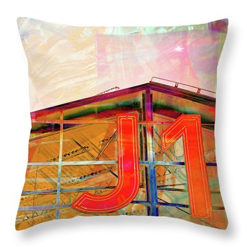 J1 Marseille, Hangar Throw Pillow