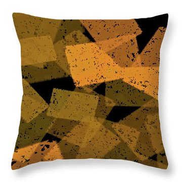 Jabberblocky Throw Pillow