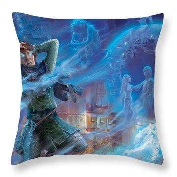 Jace's Origin Throw Pillow