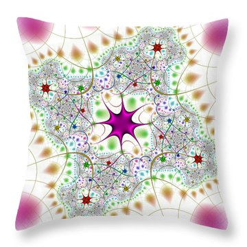 Jacheracke Throw Pillow