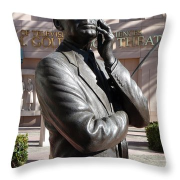 Jack Benny Throw Pillow