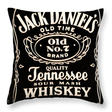 Jack Daniel's Throw Pillow