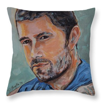 Jack From Lost Throw Pillow