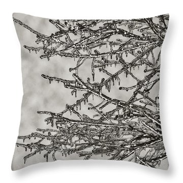 Jack Frost Throw Pillow by Bill Cannon