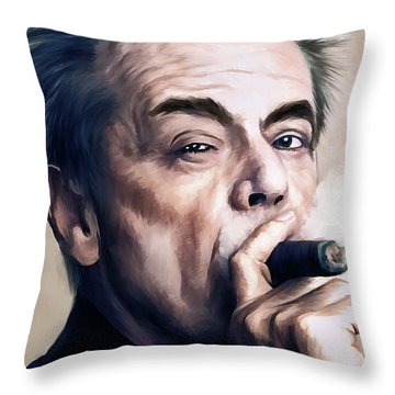 Jack Nicholson 2 Throw Pillow