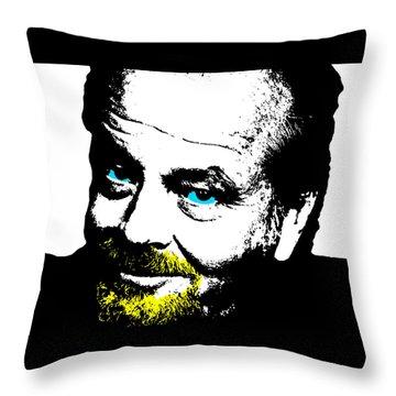 Jack Nicholson 3 Throw Pillow