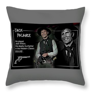 Jack  Palance Throw Pillow