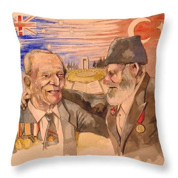 Jack Ryan And Hyseyin Kacmaz Throw Pillow