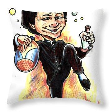 Jackie Chan Drunken Master Throw Pillow