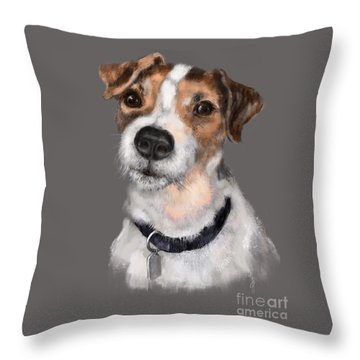 Jackson At Sunset Throw Pillow
