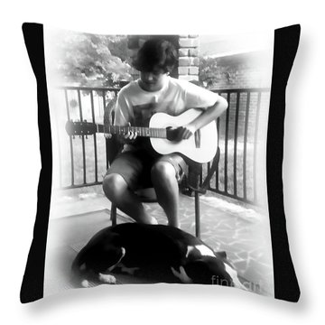 Jackson Bw Throw Pillow
