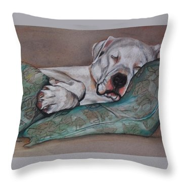 Jackson Throw Pillow by Jean Cormier