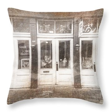 Throw Pillow featuring the photograph Jackson On Bourbon Street by Craig J Satterlee