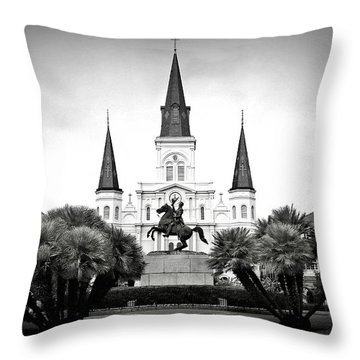 Jackson Square 2 Throw Pillow