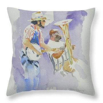 Jackson Square Throw Pillow
