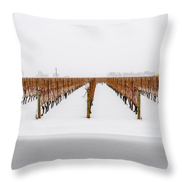 Jackson-triggs Winery Niagara Estates Throw Pillow