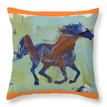 Throw Pillow featuring the painting Jacob's Inspiration by Candace Shrope