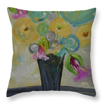 Jacqueline Throw Pillow