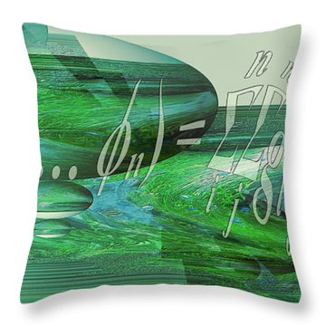 Throw Pillow featuring the photograph Jade Enigma by Robert G Kernodle