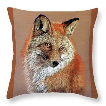 Jade Throw Pillow by Linda Becker