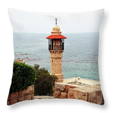 Jaffa Israel Throw Pillow