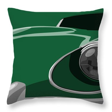 Classic Car Throw Pillows