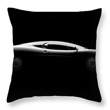 Jaguar Xj220 - Side View Throw Pillow