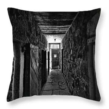 Jail House Rock Throw Pillow