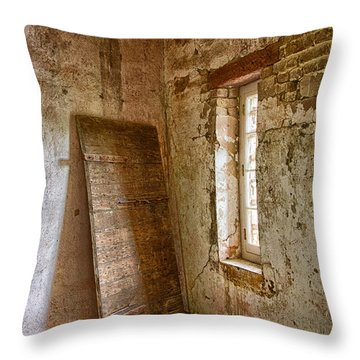 Jail House Wall Throw Pillow by Patricia Schaefer