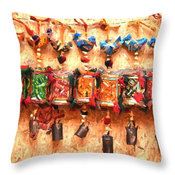 Jaisalmer Desert Festival-2 Throw Pillow