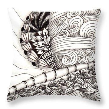 Jamaican Dreams Throw Pillow by Jan Steinle